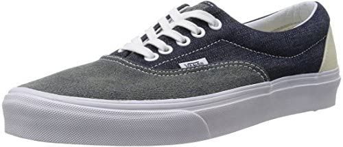 Vans U Era, Baskets mode mixte adulte - Bleu (Dress Blues/True White), 36 EU