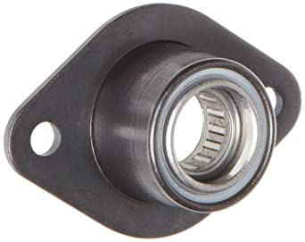 "Spyraflo BFM-500-N Self-Aligning, Needle-Roller Bearing With 2-Bolt Hole, 1/2"" Inner-Diameter Steel Flange"