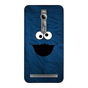 Luxirious Blue Funny Ghost Back Case Cover for Asus Zenfone 2