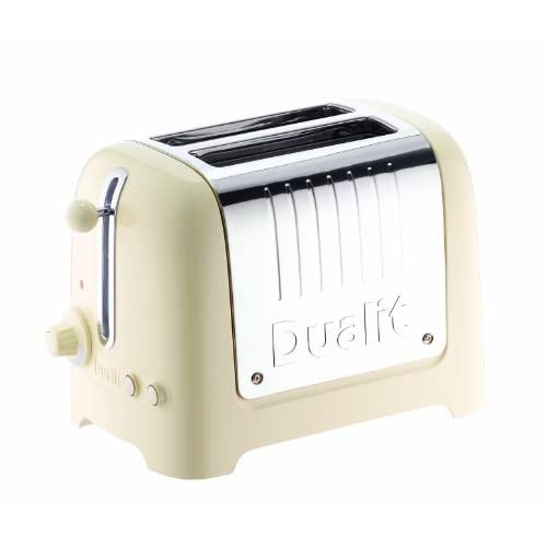 Dualit 26202 2 Slot Lite Toaster in Cream Gloss Finish