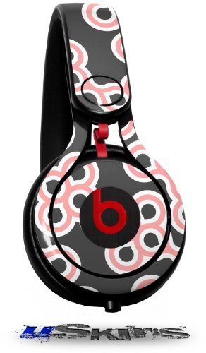 Locknodes 02 Pink Decal Style Skin (Fits Genuine Beats Mixr Headphones - Headphones Not Included)