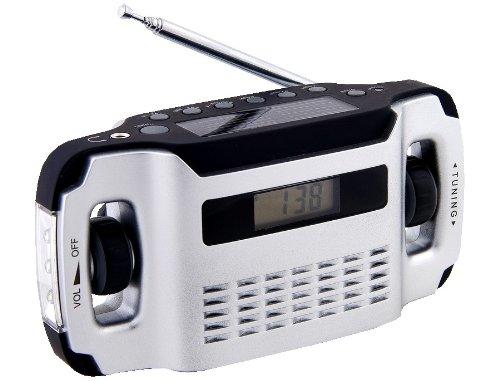 Powerplus Lynx tragbares Solarradio Dynamoradio