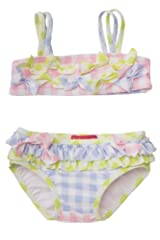 Kate Mack Girl's 2-6X Picnic In Provence Bikini in Multi