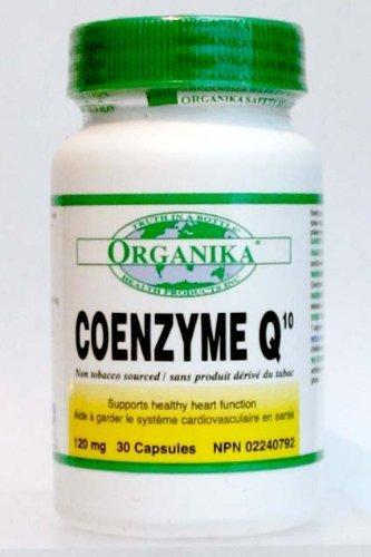 Organika Coenzyme Q10, 120 Mg, 30 Capsules