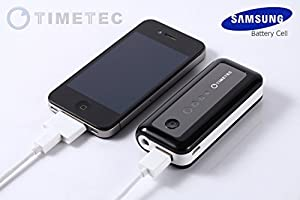 Timetec Xamp 5600mah High Capacity External Battery Pack Power Bank Charger with Flashlight with FREE Bonus Bag+Free USB wall charger
