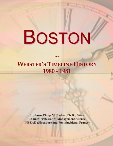 Boston: Webster's Timeline History, 1980 - 1981