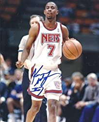 Kenny Anderson Autographed New Jersey Nets 8x10 Photo