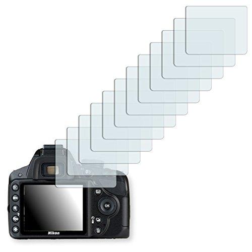 12x Ultra Clear Displayschutzfolie für Nikon D3200
