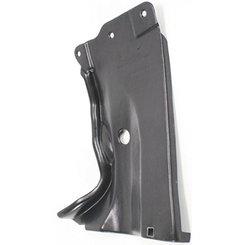 Diften 110-A5551-X01 - New Engine Splash Shield Rear Driver Left Side LH Hand MA1228101 BP4K56115F (05 Mazda 3 Mud Flaps compare prices)