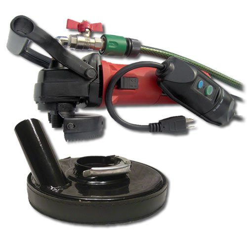 SECCO WVDGRIN Variable Speed Wet Polisher Kit