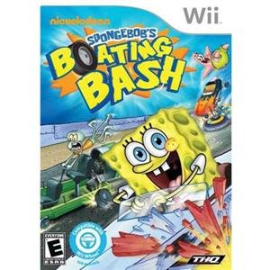 NEW Spongebob Boating Bash Wii (Videogame Software)