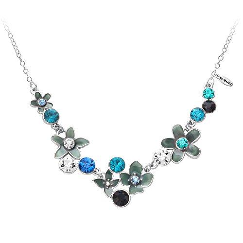 noumanda-elegante-turkis-flower-kristall-collier-halskette-frauen-statement-halskette-anhanger