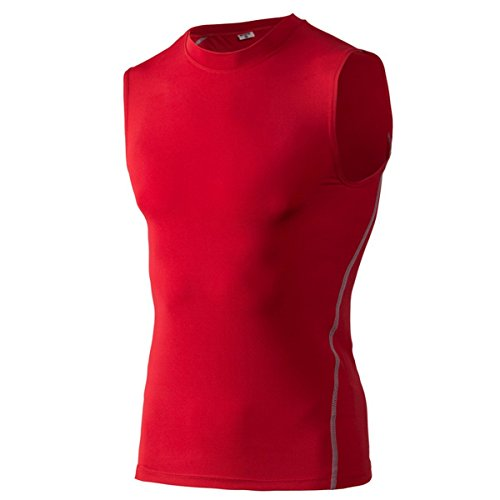 AHATECH -  Felpa  - Uomo Rosso rosso DE XL(Tag XXL)