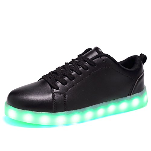 CIOR Men Women High and Low Top 7 Colors Led Sneakers Light Up Flashing Shoes For Halloween?109,01,46