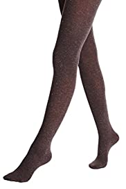 Heavyweight Sparkle Effect Opaque Tights [T60-6135-S]