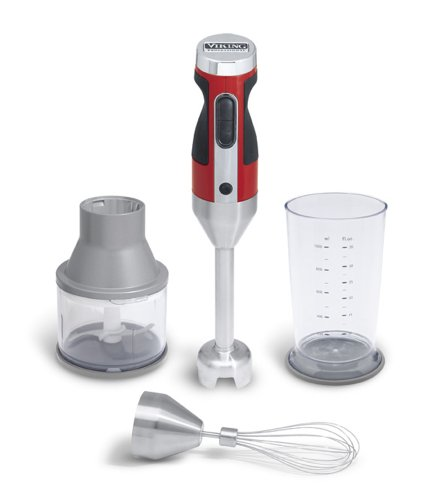 Great Deal! Viking Limited Edition Blender Chopper Set, Red Hand