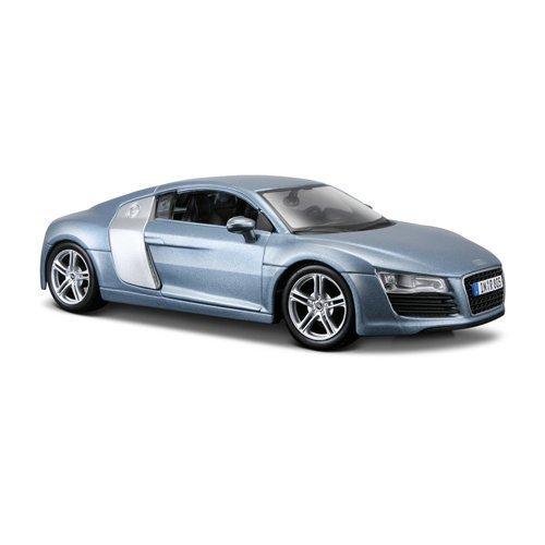 Maisto-31281-Audi-R8-124-farblich-sortiert