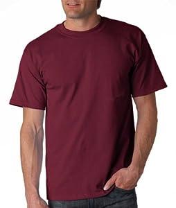 Gildan Adult Ultra Cotton T-Shirt, Maroon, X-Large. 2000