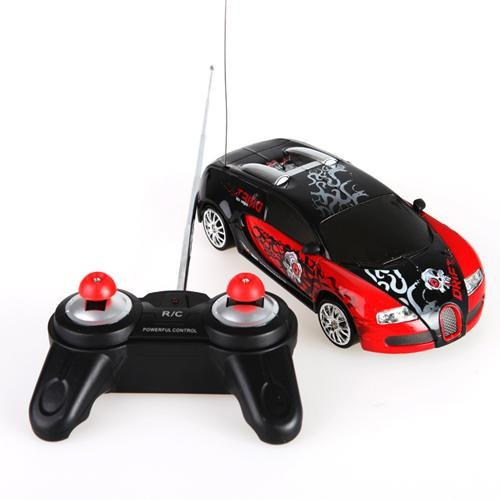 Rc Cool Pattern Coupe / Remote Control Car Random Color