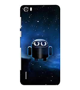 EPICCASE cute android Mobile Back Case Cover For Huawei Honor 6 Plus (Designer Case)
