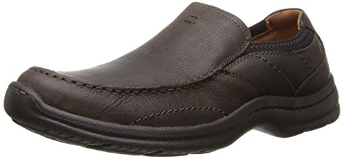 Clarks Men's Niland Energy Slip-On Loafer, Brown Tumble, 8 M US