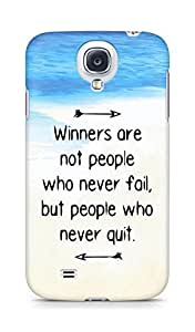 AMEZ but people who never quit Back Cover For Samsung Galaxy S4
