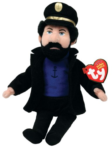 Ty Beanie Babies Captain Haddock The TinTin Captain - 1