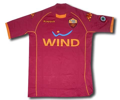 AS Roma 08/09 Home Soccer Jersey