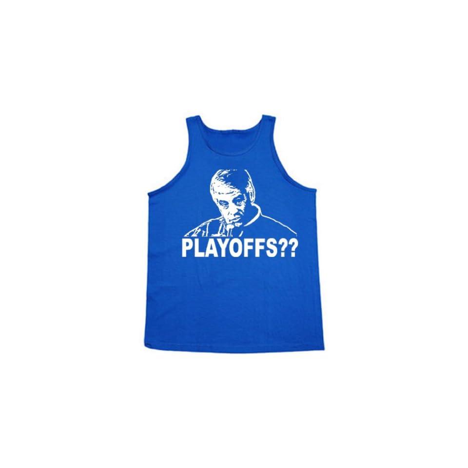 "Shedd Shirts Men's Jim Mora Indianapolis Colts ""Playoffs"" Tank Clothing"