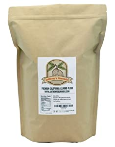 Anthony's Almonds Blanched Almond Flour, 100% Gluten Free, 5 lbs