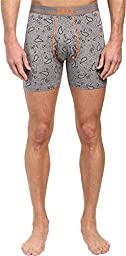Saxx Mens Platinum Fly Boxers Underwear Medium Mid Heather Paisley