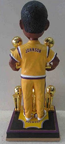 Magic Johnson Los Angeles Lakers 5X Champ/Warm-Up NBA Legends Bobble Head Exclusive #/500 trevor ariza autographed signed 8x10 photo lakers nba finals free throw coa