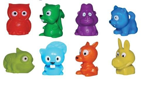 Mini Malz Tiny Animal Figures Series 2 - Lot of 20