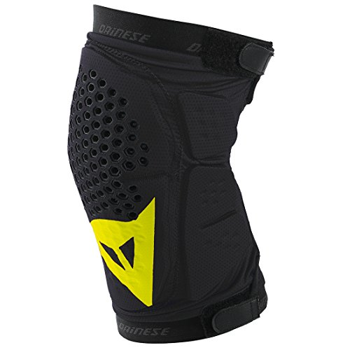 dainese-protektor-trail-skins-knee-guard-prenda-color-negro-black-yellow-fluo-talla-m