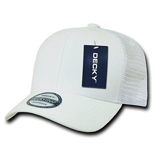 Decky Trucker Hats: DECKY 6 Panel Curve Bill Trucker Cap ()