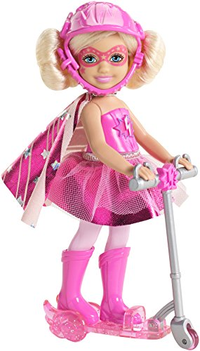 Barbie in Princess Power Chelsea and Scooter Doll, Pink - 1