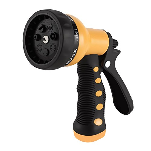 Etronic heavy duty garden hose nozzle spray hand
