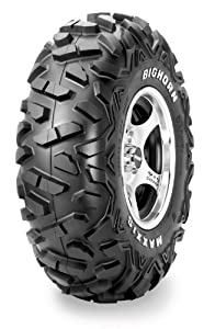 Maxxis M917 Bighorn Tire - Front - 25x8Rx12 , Position: Front, Tire Type: ATV/UTV, Tire Ply: 6, Tire Size: 25x8x12, Rim Size: 12, Tire Construction: Radial, Tire Application: All-Terrain TM16613100