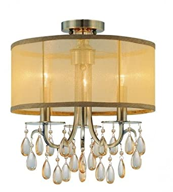 Crystorama Lighting Group 5623 Hampton 3 Light Mini Chandelier