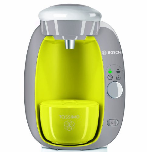 Bosch Tassimo T20 Beverage System and Coffee Brewer with Pack of T Discs, Lime Green