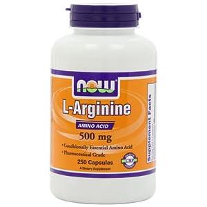 Lアルギニン 500mg 250粒(海外直送品)