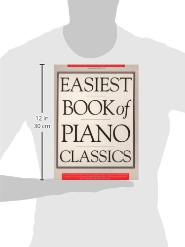 Easiest Book of Piano Classics (Library of Series)