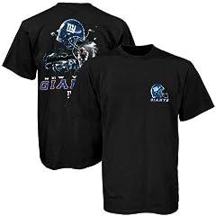 Buy Liquid Blue New York Giants Sky Helmet T-Shirt by Liquid Blue