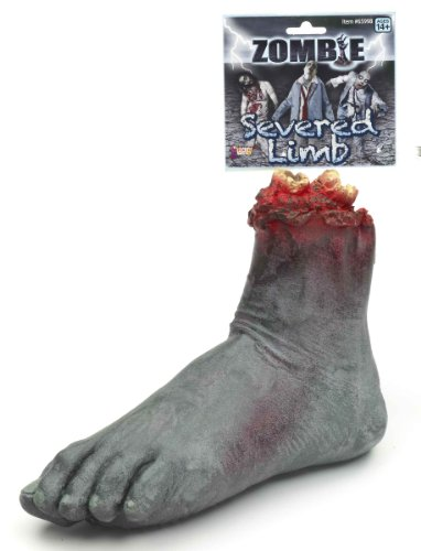 Forum Novelties Severed Foot Zombie, Multicolor