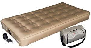SimplySleeper SS-SNG47T Premium Airbed with Built-in Rechargeable Pump, Beige, Twin by SimplySleeper