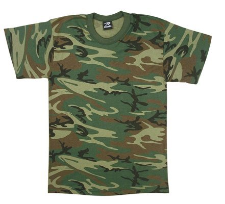 Rothco Kids T-Shirt, Woodland Camo, Small (Camouflage Clothing For Kids compare prices)