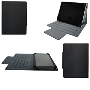 Housse universelle tablette 7 pouces style cuir ultra slim - Pochette tablette asus 10 pouces ...