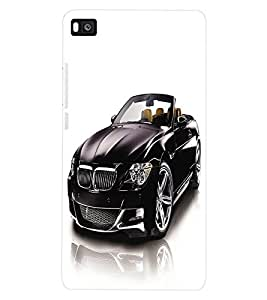 ColourCraft Car Back Case Cover for HUAWEI P8