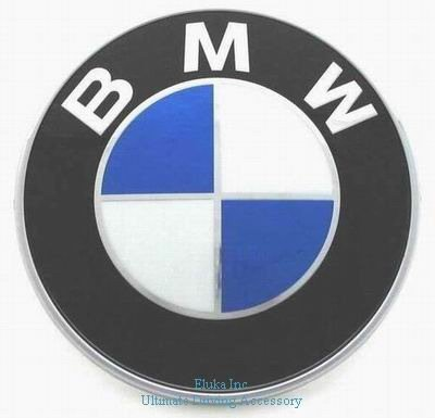 BMW Genuine Trunk Emblem for X3 SAV (2003 - 2009) (Bmw Hood Emblem Genuine compare prices)