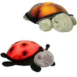 Cloud B Two Piece Combo Set - One Twilight Turtle & One Twilight Lady Bug